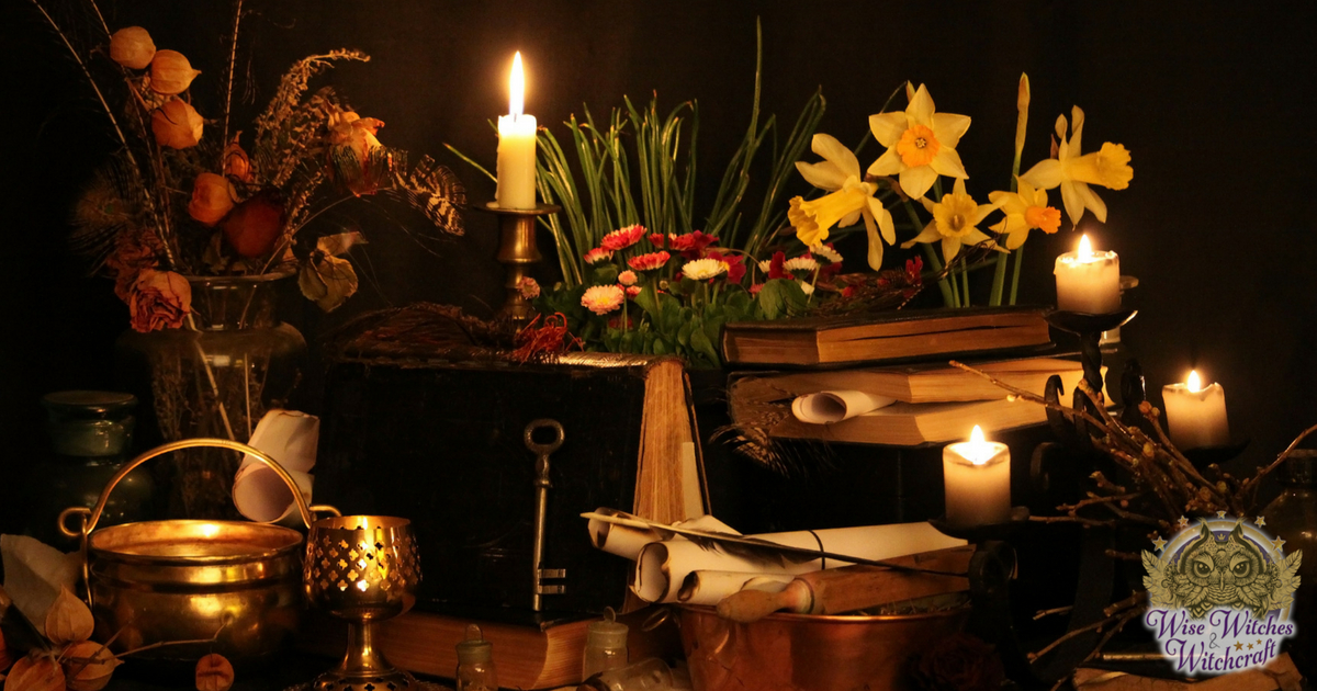 Setting up Your Altar for Wicca or Witchcraft - Wise Witches